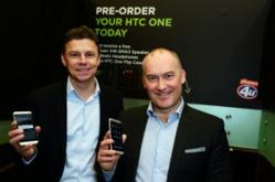 HTC One Launch: Phones 4u's Scott Hooton & HTC's Phil Blair
