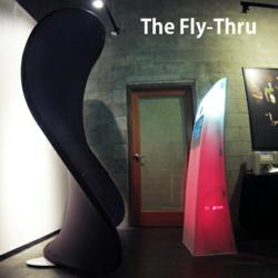 new LA photo booth rental fly thru