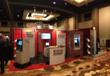 Wincor Nixdorf's booth at ATMIA in Scottsdale, Arizona.