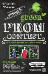 Thrift Town Go Green to the Prom Contest