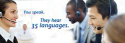 People around the world read translation of your voice