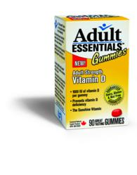 Adult Essentials Vitamin D Gummy