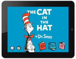 The Cat in the Hat by Dr. Seuss digital book app