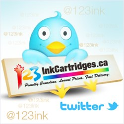 Twitter of 123inkcartridges.ca
