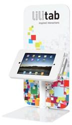 iPad kiosk, Lilitab iPad kiosk, iPad kiosks, Lilitab iPad kiosks