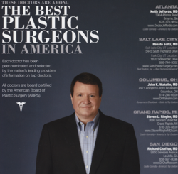 Dr. Jeffords Among the Best Plastic Surgeon in America