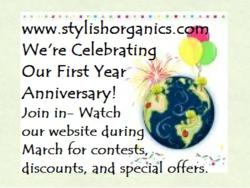 Stylish Organics March Celebration