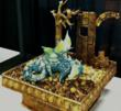 Sculpture by Sidney Galpern of Simi Cakes that placed 3rd in competition.