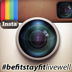 #befitstayfitlivewell campaign
