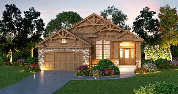 Consumers and builders can now get house plans emailed in for Award winning craftsman home designs
