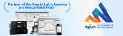 TelOnline Awarded Digium Pinnacle Partner Award forPartner of the Year in Latin America