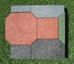 Recycled Tire Rubber Pavers