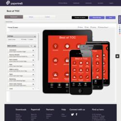 The Papertrell Book App platform