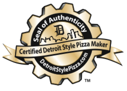 Official Certified Detroit Style Pizza Maker Seal