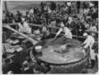 Archived image, 1940s Razor Clam Festival, Long Beach, WA, Wash., Washington,  Columbia Pacific Heritage Museum, Long Beach Peninsula, Washington Coast festival