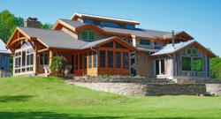 Learn the differences in timber frame homes, stick-built homes, and log homes during New Energy Works seminars at the Log & Timber Home Shows.