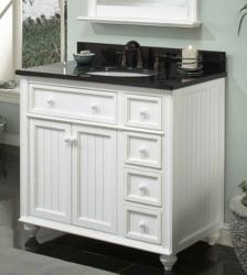 36 Inch Cottage Retreat Basic Bathroom Vanity From Sagehill Designs