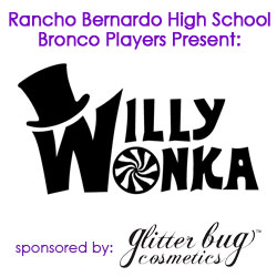 Glitterbug Cosmetics Sponsoring High School Musical 'Willy Wonka'