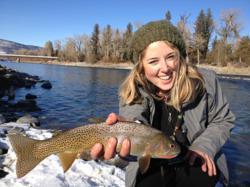 february fishing in Montana