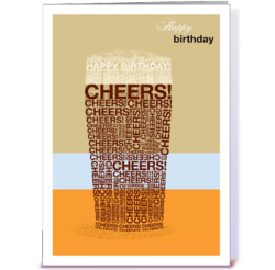 Happy Birthday cards for men