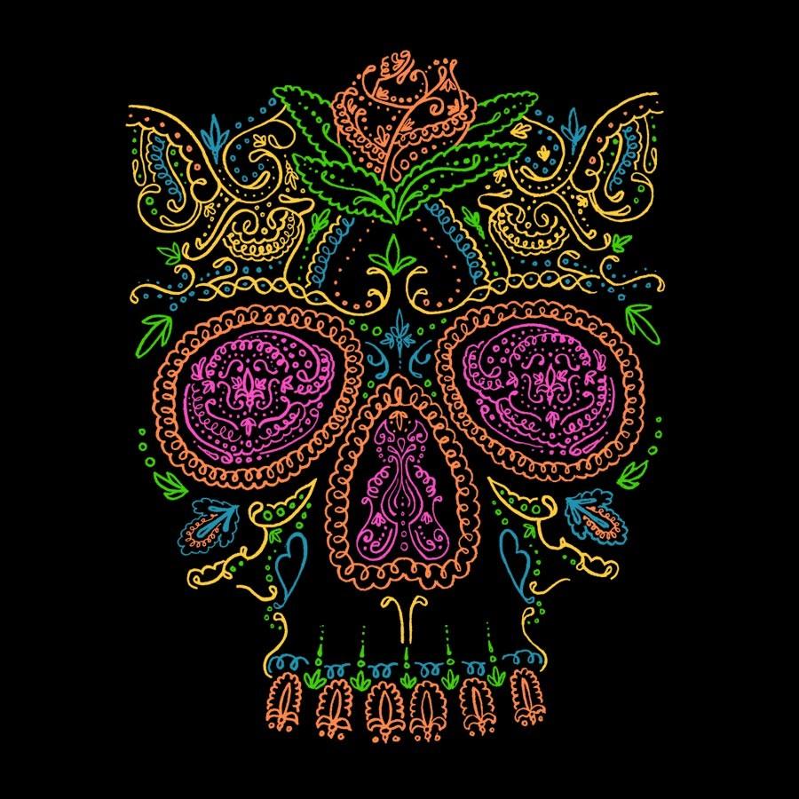 Design t shirt neon colors - Signal Over Drive Shirt