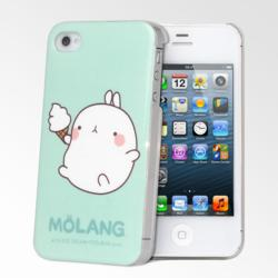 Cute Molang iPhone 4/4S Cases