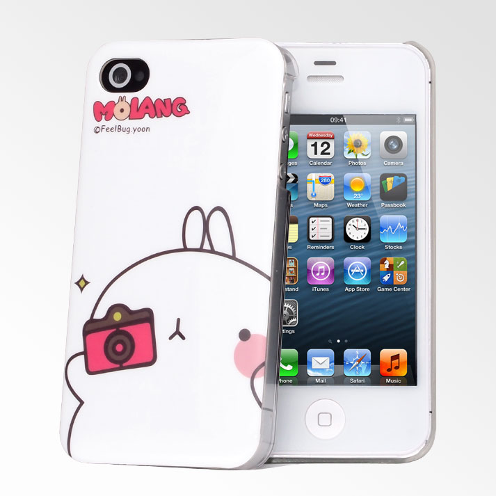 Cute Molang IPhone 4 4S CasesCute Cases