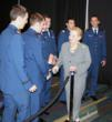 Cadets with Madeleine Albright