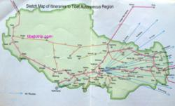 Tibet Travel Maps, Tibet Tourist Maps, travel map of Tibet, Tibet maps