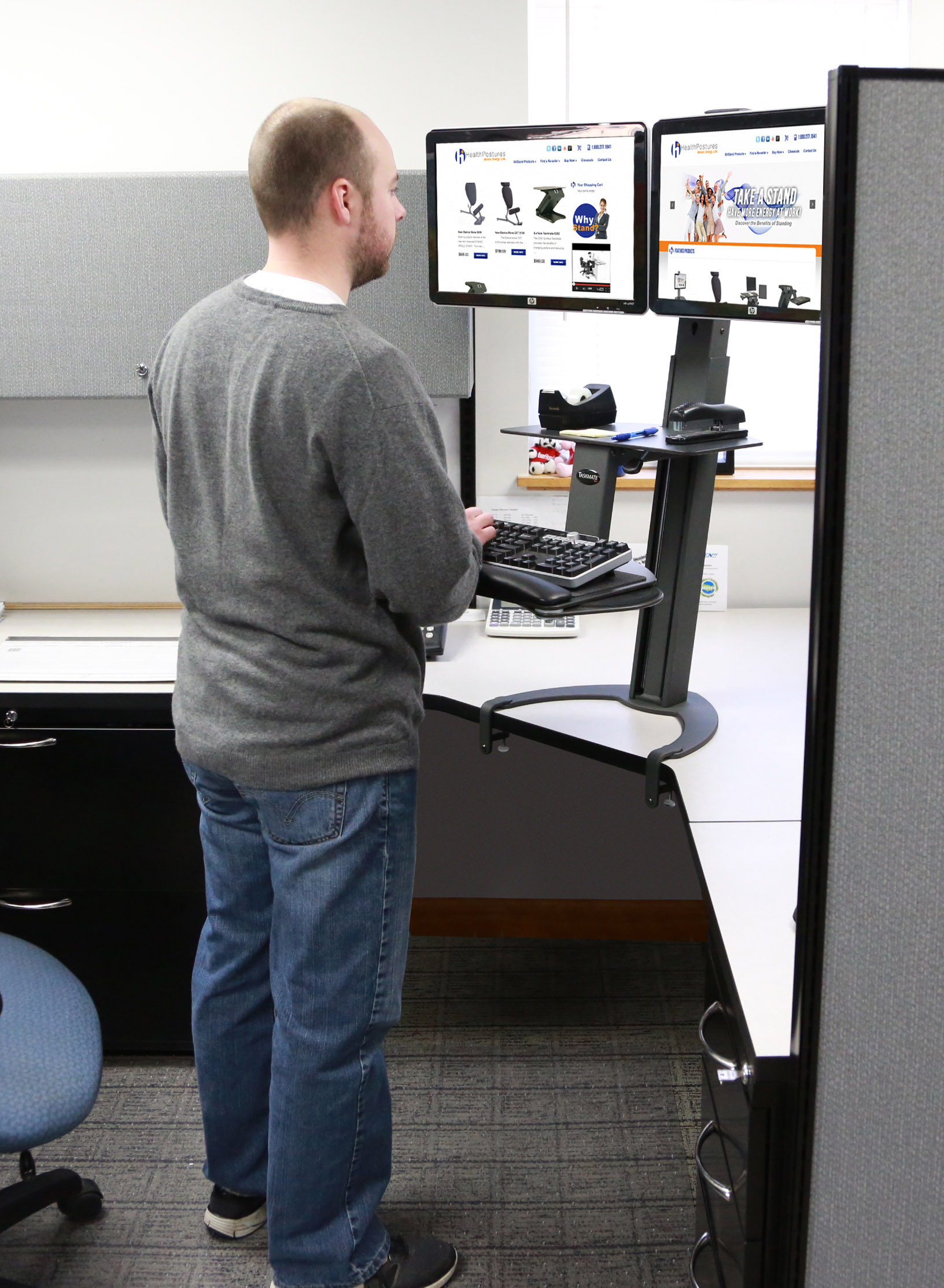 Health Postures And Electronic Office Environments