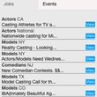 eTalentShowcase Job & Event Board
