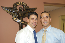 Dr. Michael Cocilovo and Dr. Gil Rodriguez of New City Chiropractic Center