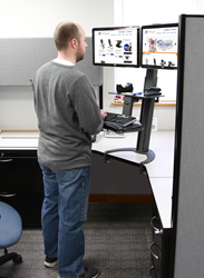 The new sit - stand TaskMate Go from HealthPostures