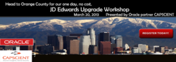 JD Edwards (JDE) Upgrade Workshop
