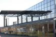 Picture shows the modern building where Redeem have their new HQ at the Pyramids near Bathgate