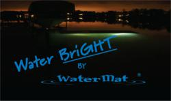 WaterBright by WaterMat Accessory lets you use your WaterMat after dark
