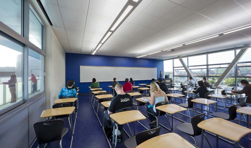 Natural Classroom Design ~ Glenn carels joins the prestigious ranks of aia s