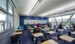 Palomar College Multidisciplinary Building classroom designs promote natural ventilation and daylighting throughout.