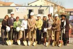 Jamboree Housing Corporation staff, City of Irvine officials, lending, construction and community partners broke ground on phase two of Doria Apartment Homes in Irvine, California - a workforce housing community for families.