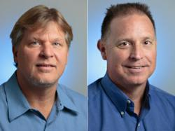 DTS Employees Lail Hundertmark (L) and Jerry Lawrence (R)