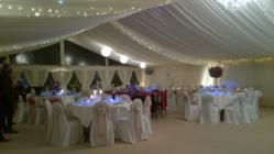 Regency Cord Carpet Fitted in a Marquee