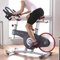 LifeCycle GX Indoor Cycle by Life Fitness, sold at Leisure Fitness.