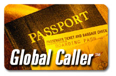 New Global Caller phone card, delivered instantly by email.