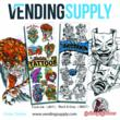 Vending Supply Expands Popular Temporary Tattoo and Sticker Lines for Spring