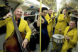 "The Jive Aces were featured in the London Evening Standard story— ""Doctor's orders to beat winter blues: Jive Aces' rendition of 'Bring Me Sunshine.'"""