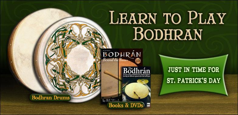 How to play Bodhran: 1. Basic Stroke: Rónán Ó Snodaigh ...