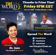 "Dr Jasmin Sculark (Dr. Jazz - ""The Daughter of Thunder"") is in Primetime on The Word Network"