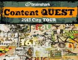 BrightCarbon and Brainshark Content Quest 2013