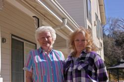 JoAnna Crawford (left) and Marilyn Barbian are the new innkeepers at the Hounds Tooth Inn in Oakhurst, California. The pair are eagerly anticipating their first summer season at the property.