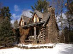log home upstate ny real estate